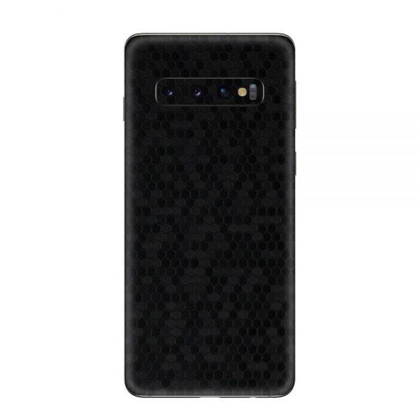 Skin Fibră de Carbon Fagure Samsung Galaxy S10 / S10 Plus