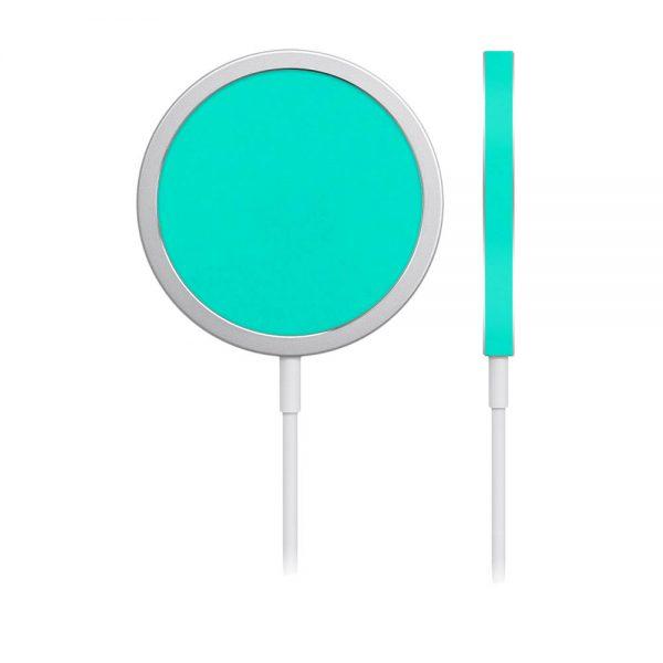 Skin Verde Mentolat pentru încărcător iPhone MagSafe