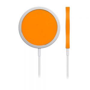 Skin Portocaliu Mat pentru încărcător iPhone MagSafe