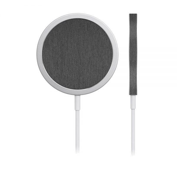 Skin Titanium pentru încărcător iPhone MagSafe