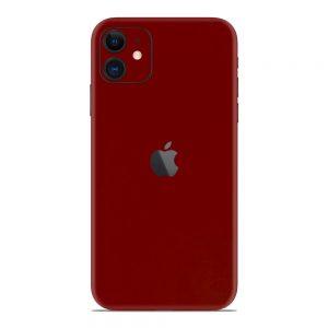 Skin Roșu Sângeriu iPhone 11