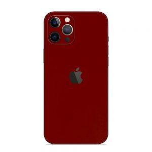 Skin Roșu Sângeriu iPhone 12 Pro / 12 Pro Max