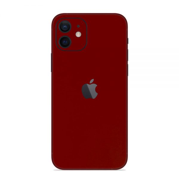 Skin Roșu Sângeriu iPhone 12 / Mini