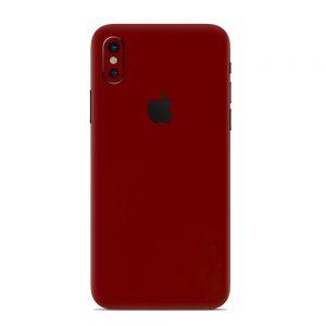 Skin Roșu Sângeriu iPhone X / Xs / Xs Max