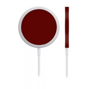 Skin Roșu Sângeriu pentru încărcător iPhone MagSafe