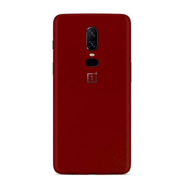 Skin Roșu Sângeriu OnePlus 6