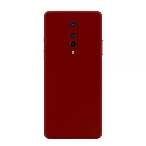 Skin Roșu Sângeriu OnePlus 8