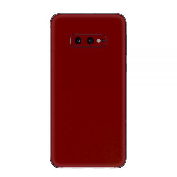 Skin Roșu Sângeriu Samsung Galaxy S10e
