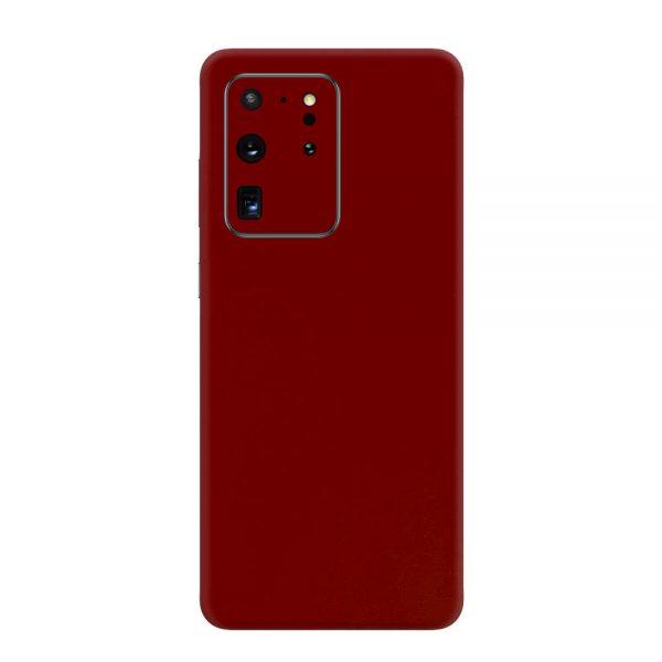 Skin Roșu Sângeriu Samsung Galaxy S20 Ultra