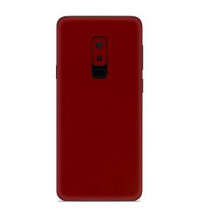 Skin Roșu Sângeriu Samsung Galaxy S9 Plus