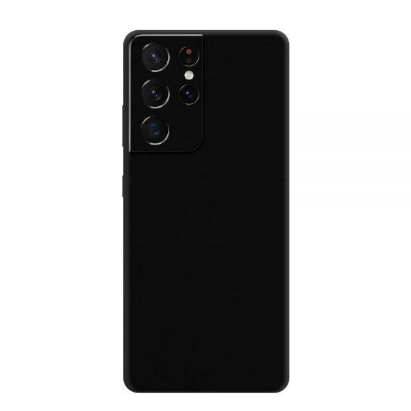 Skin Negru Mat Samsung Galaxy S21 Ultra