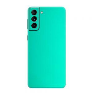 Skin Crom Verde Smarald Mat Samsung Galaxy S21 / S21 Plus