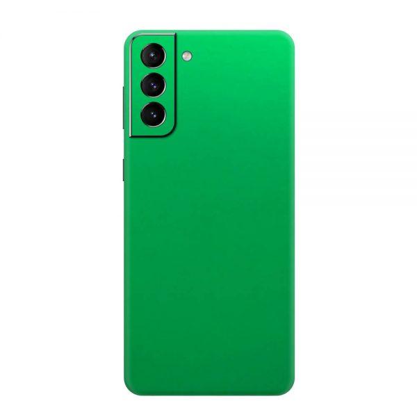 Skin Crom Verde Mat Samsung Galaxy S21 / S21 Plus