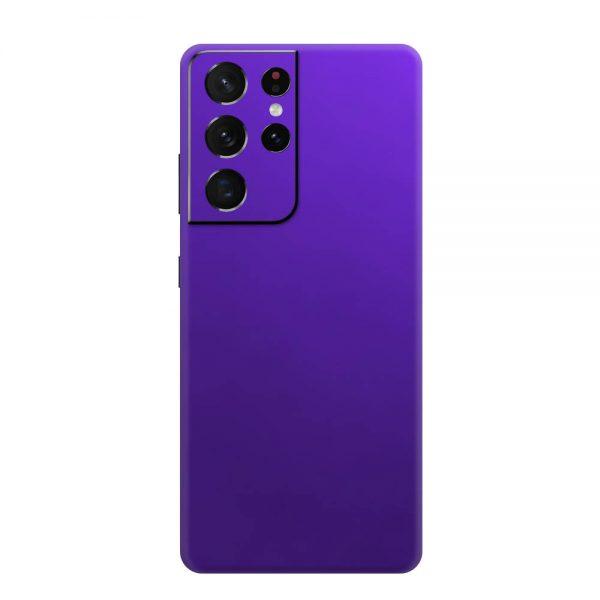 Skin Crom Violet Mat Samsung Galaxy S21 Ultra