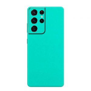 Skin Verde Mentolat Samsung Galaxy S21 Ultra