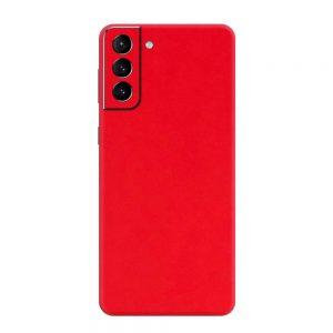Skin Roșu Mat Samsung Galaxy S21 / S21 Plus