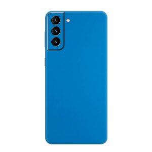 Skin Albastru Mat Samsung Galaxy S21 / S21 Plus