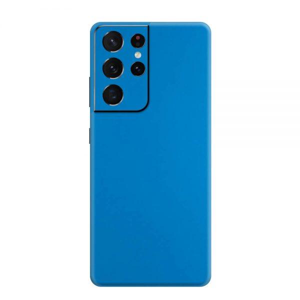 Skin Albastru Mat Samsung Galaxy S21 Ultra
