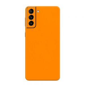 Skin Portocaliu Mat Samsung Galaxy S21 / S21 Plus