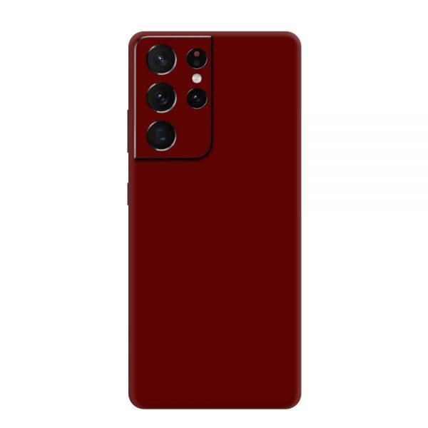 Skin Roșu Sângeriu Samsung Galaxy S21 Ultra