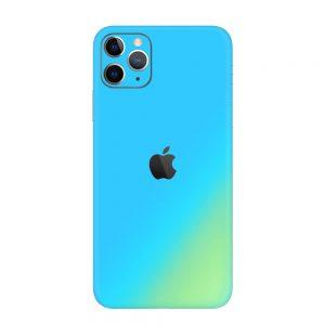 Skin Cameleon Bleu Auriu iPhone 11 Pro / 11 Pro Max