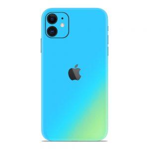 Skin Cameleon Bleu Auriu iPhone 11