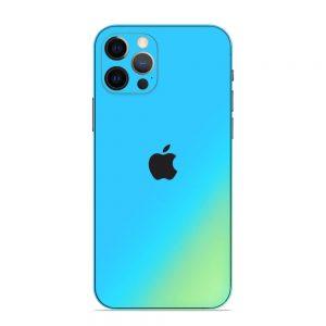Skin Cameleon Bleu Auriu iPhone 12 Pro / 12 Pro Max