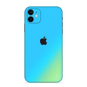 Skin Cameleon Bleu Auriu iPhone 12 / 12 Mini