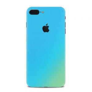Skin Cameleon Bleu Auriu iPhone 7 Plus / 8 Plus