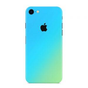Skin Cameleon Bleu Auriu iPhone 7 / 8