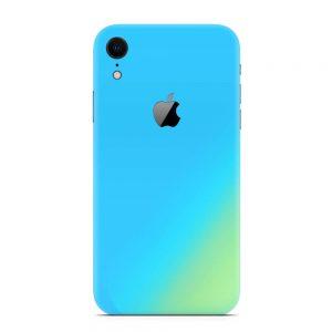 Skin Cameleon Bleu Auriu iPhone Xr