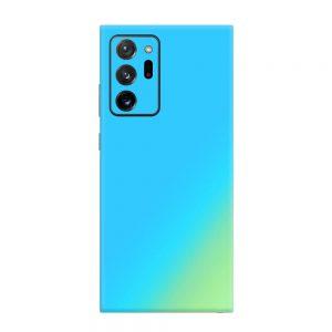 Skin Cameleon Bleu Auriu Samsung Galaxy Note 20 Ultra