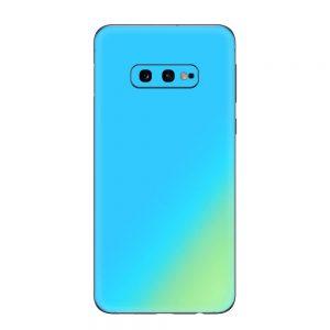 Skin Cameleon Bleu Auriu Samsung Galaxy S10e