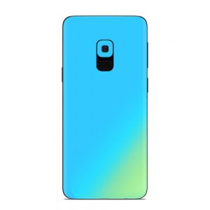 Skin Cameleon Bleu Auriu Samsung Galaxy S9