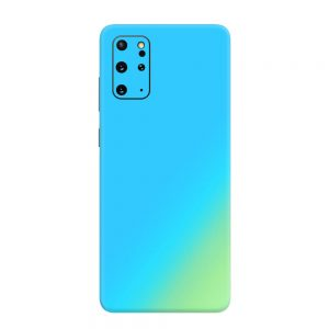 Skin Cameleon Bleu Auriu Samsung Galaxy S20 Plus