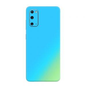 Skin Cameleon Bleu Auriu Samsung Galaxy S20