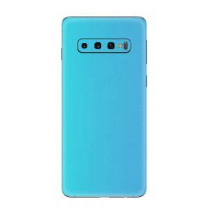 Skin Bleu Perlat Samsung Galaxy S10 / S10 Plus