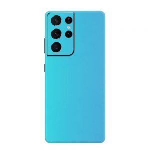 Skin Bleu Perlat Samsung Galaxy S21 Ultra