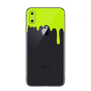 Acid Green Drips Skin iPhone X / Xs / Xs Max