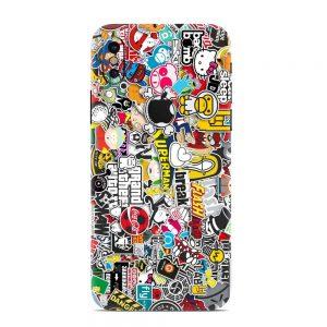 Skin Sticker Bomb iPhone X / Xr / Xs / Xs Max