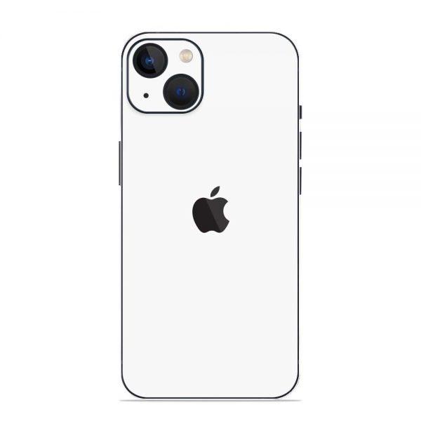 Skin Alb Mat iPhone 13 / 13 Mini