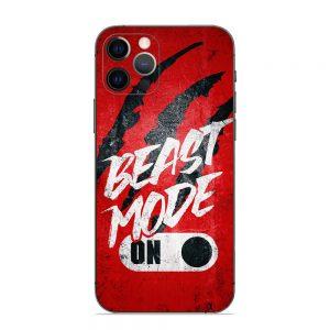 Skin Beast Mode iPhone 12 Pro / 12 Pro Max / 13 Pro / 13 Pro Max