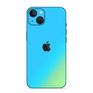 Skin Cameleon Bleu Auriu iPhone 13 / 13 Mini
