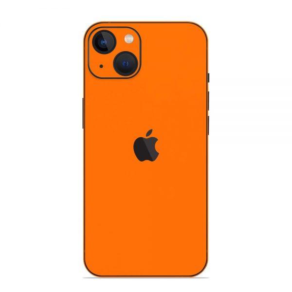 Skin Portocaliu Mat iPhone 13 / 13 Mini