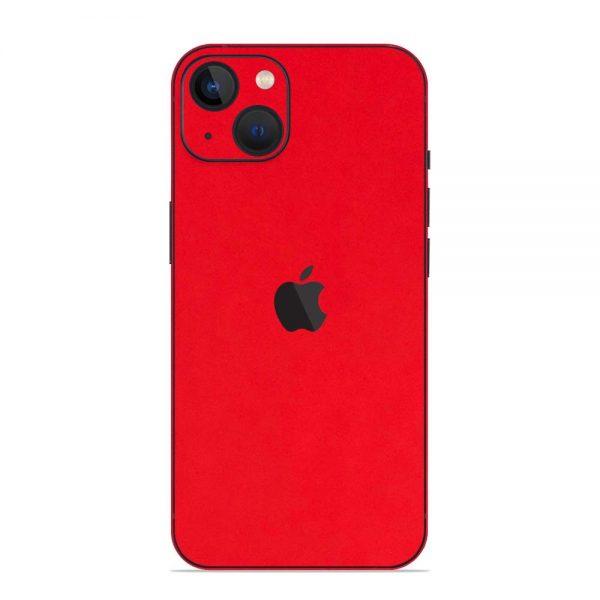 Skin Roșu Mat iPhone 13 / 13 Mini