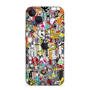 Skin Sticker Bomb iPhone 13 / 13 Mini